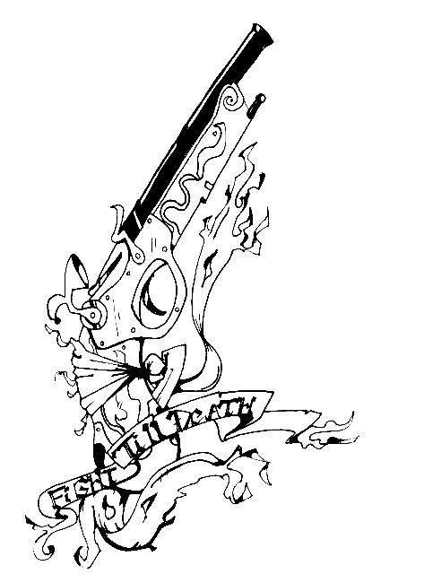 Gun Tattoo Drawing At Getdrawings Com Free For Personal Use Gun