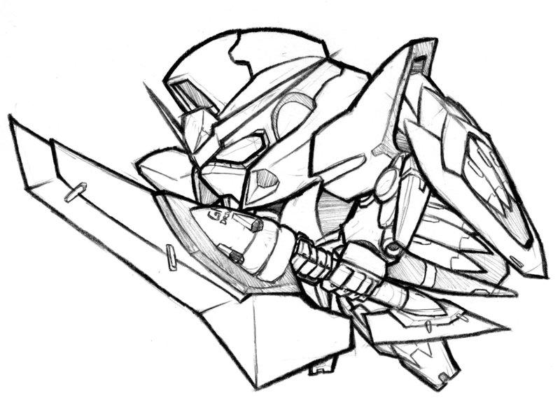 800x579 Gundam Zwei By Biomonkz