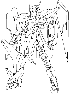 292x400 Quick Gundam Sketch By Joeyfisher