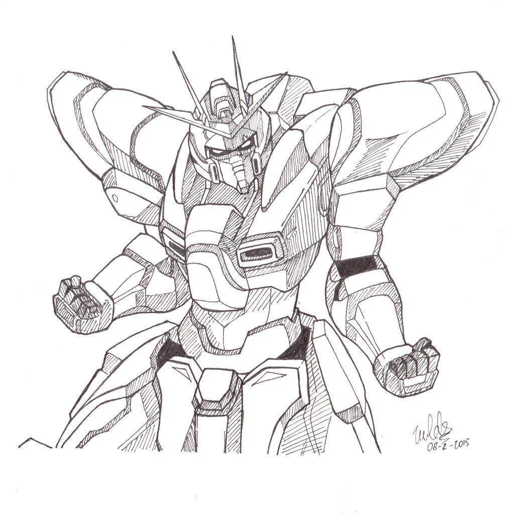 1024x1024 Try Burning Gundam! By Valdisghaffar