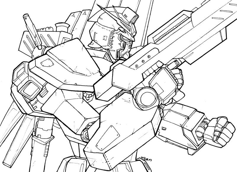 800x581 Gundam Rx 93 By Beamer