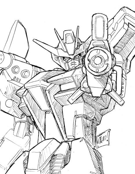 466x600 Launcher Strike Gundam By Beamer