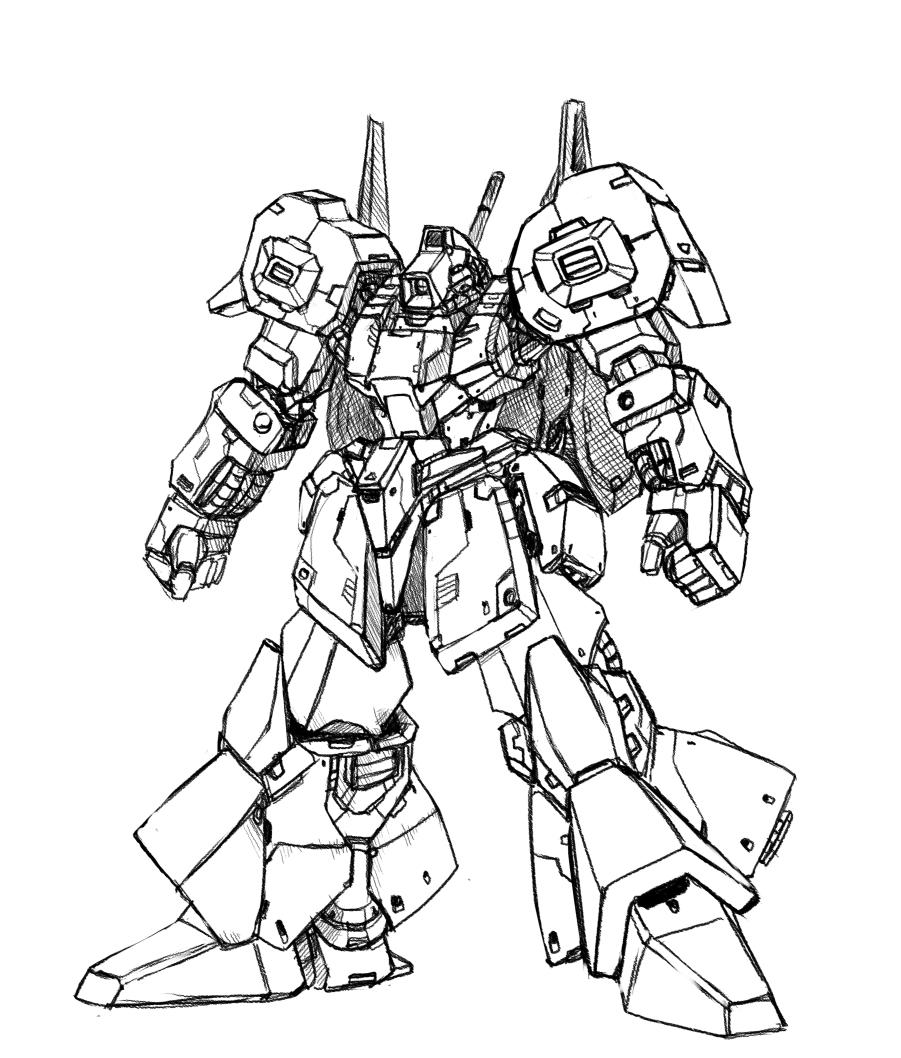 901x1058 Gundam Drawing By Ramen Picking Gundam Artwork