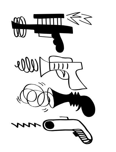 Guns Drawing