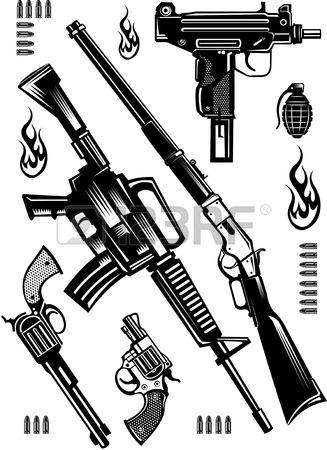 327x450 Machine Gun Stock Photos. Royalty Free Business Images