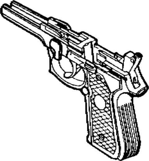 480x519 Beretta 9mm Drawings