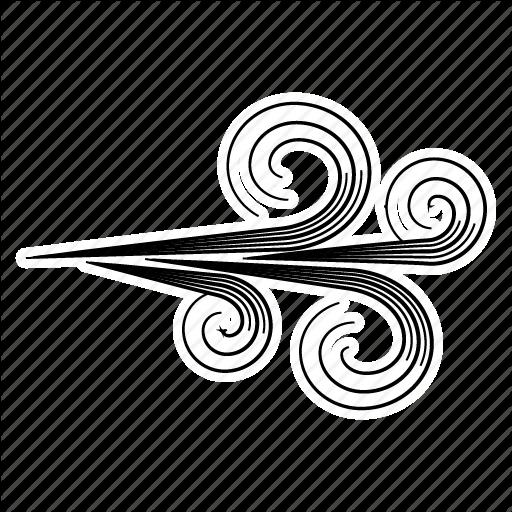 512x512 Breeze, Breezy, Gust, Gusty, Weather, Wind, Windy Icon Icon