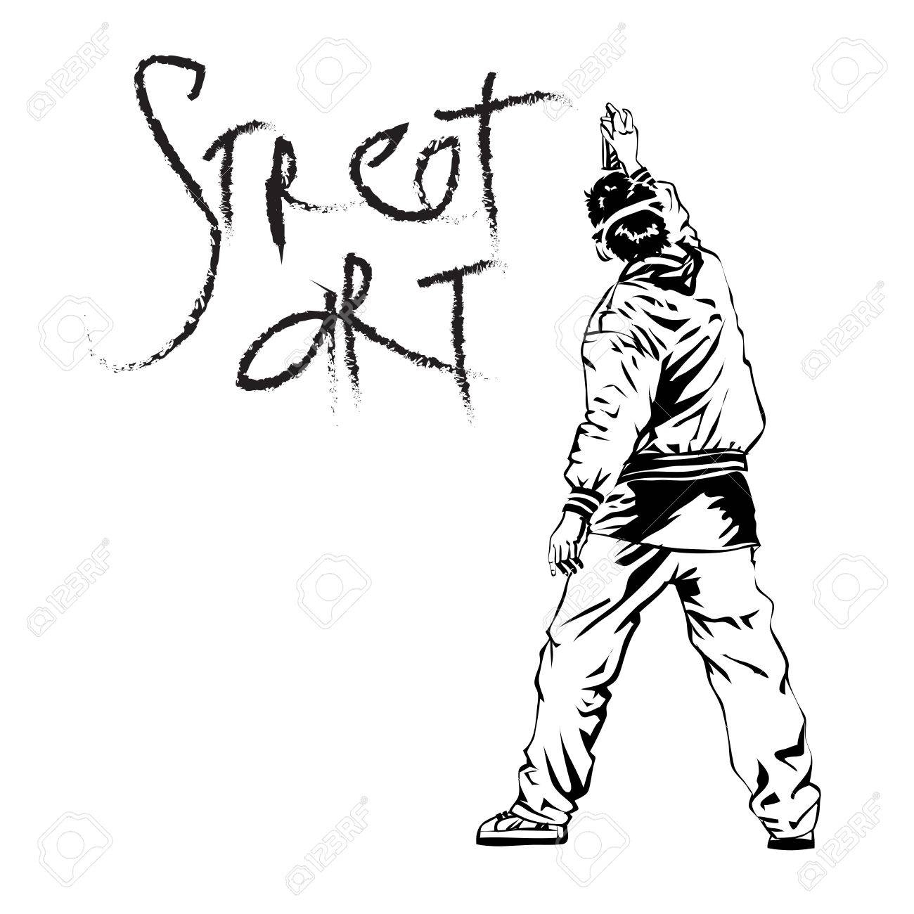 1300x1300 Graffiti Guy Drawing How To Draw A Graffiti Character By Wizard