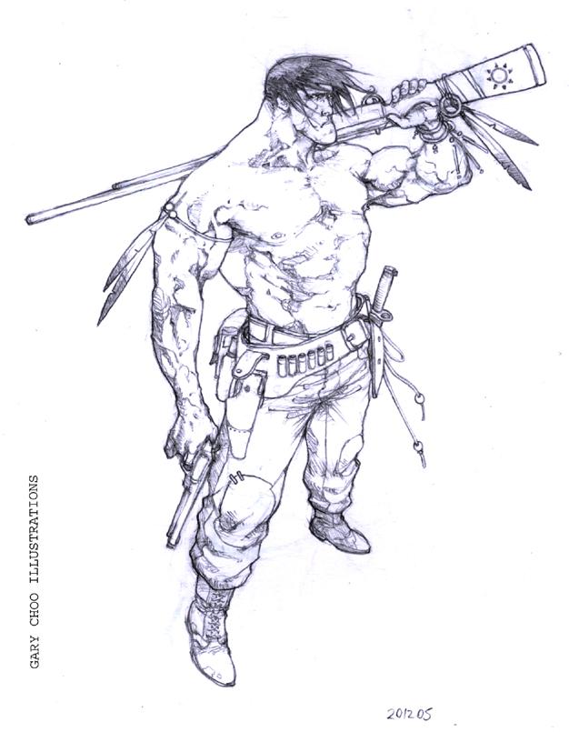 626x805 Tribe Tough Guy By Curryz