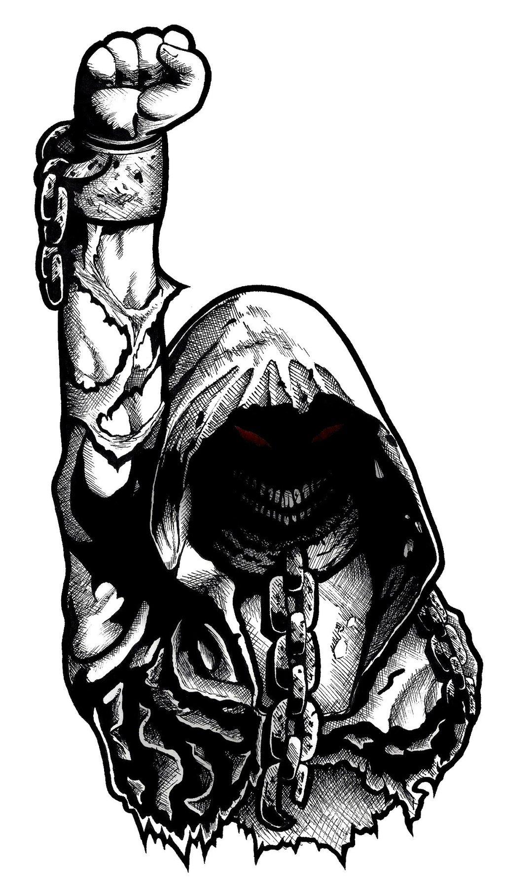 1024x1812 Disturbed Guy By Patsurikku