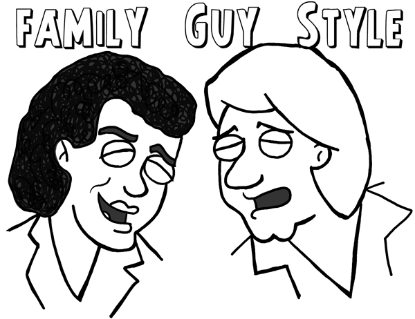 600x462 How To Draw Men And Males In Many Different Cartoon Styles (Air