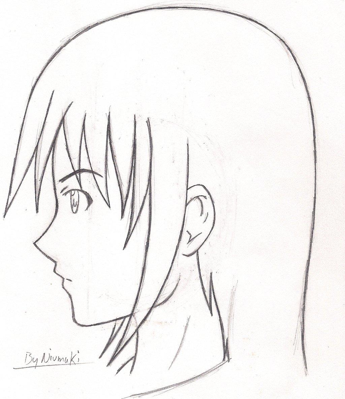 1024x1186 Animemanga Guy Side View By Tsurakuunai
