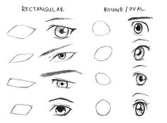 236x174 To Draw Different Anime Eyes