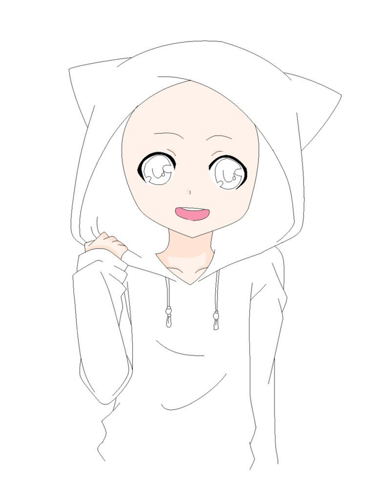 It is a graphic of Smart Guy In Hoodie Drawing