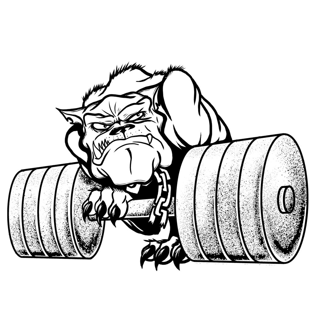 1024x1024 Bulldog For Gym By Jss13