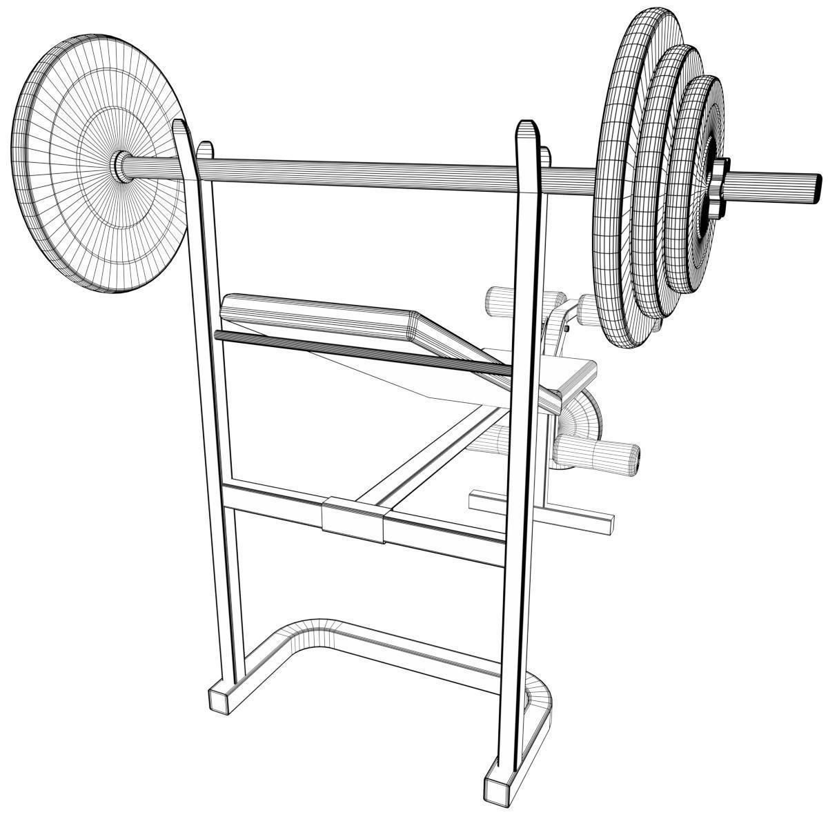 Gym Equipment Drawing at GetDrawings com   Free for personal