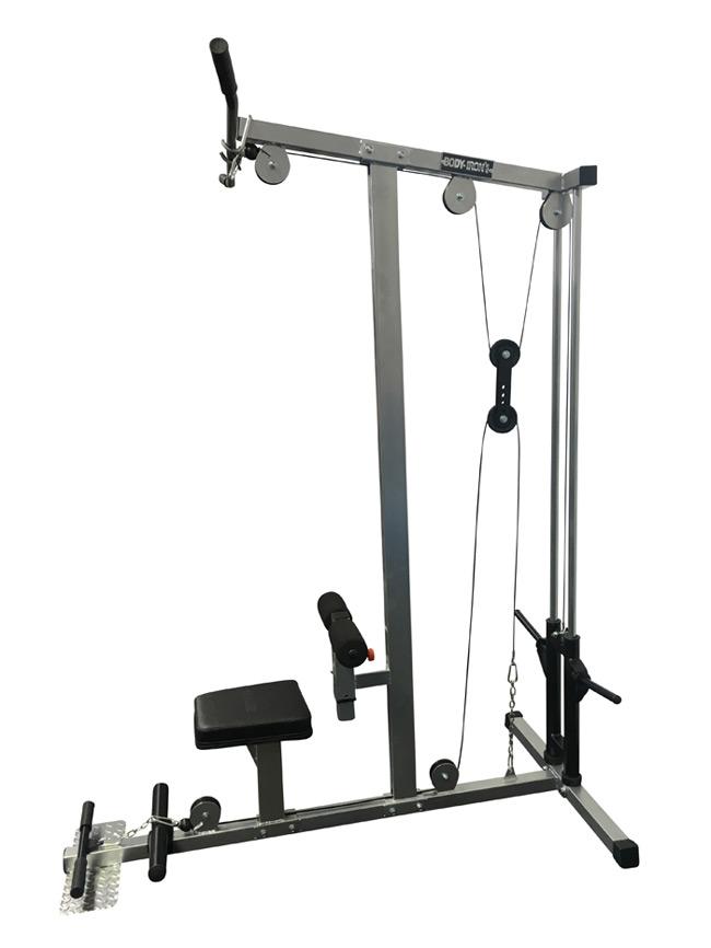 650x866 Body Iron Lat Pull Down Low Row Machines T100 World Fitness