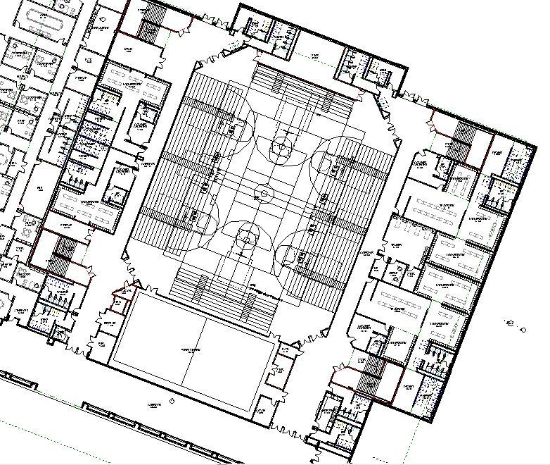 782x660 Lake Central High School Room Concepts Gymnasium