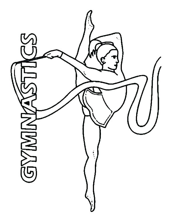 Gymnastic Drawing at GetDrawings | Free download