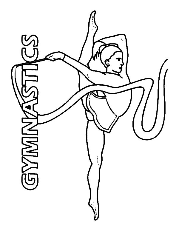 tumbling coloring pages - photo#15