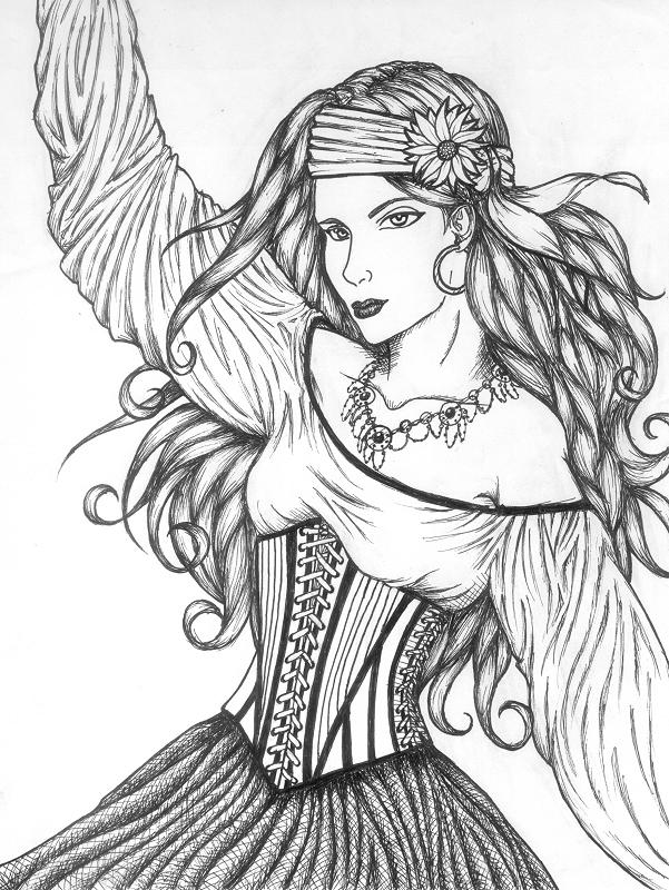 601x800 Gypsy By Moonbeamfluff