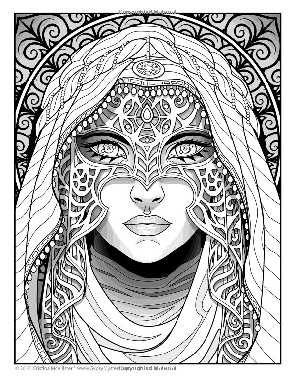 600x776 Gypsy Coloring Pages 867 Best Beautiful Women Coloring Pages