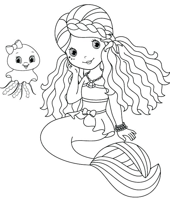 590x700 H2o Coloring Pages Just Add Water Holiday