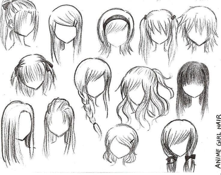 736x582 Photos Easy To Draw Anime Hair,