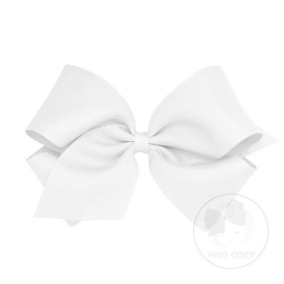 400x400 Classic Grosgrain Hair Bow (Plain Wrap)