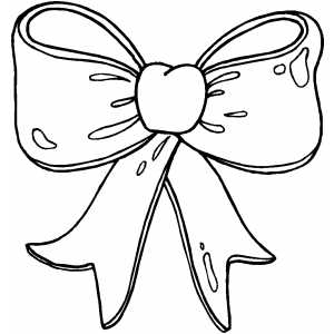 300x300 Hair Bows Coloring Pages Minnie Mouse Hair Bow Coloring Pages