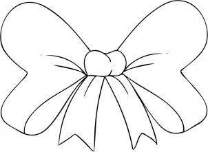 302x221 How To Draw A Hair Bow Step 4 Tattoos Lt3 Hair Bow