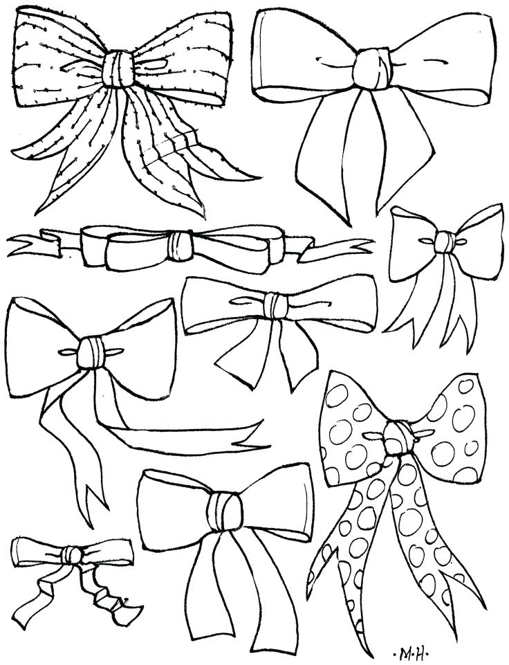 736x961 Bow Coloring Pages Bow Coloring Page By Bow Coloring Page By Cheer