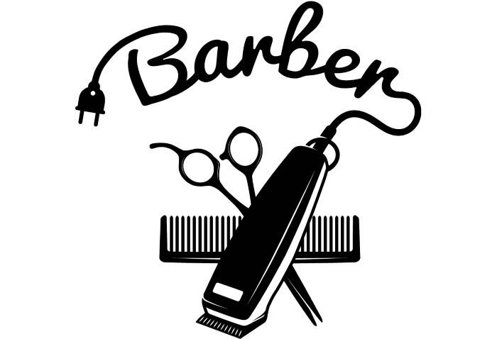 Barber Clipart Hair Clipper Drawing a...