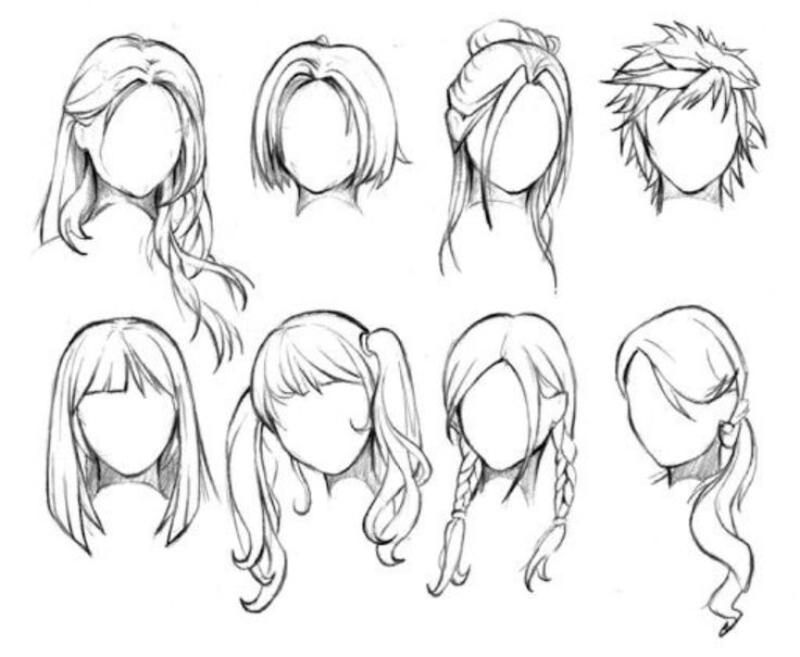 736x605 14 Best Drawing Hair Images