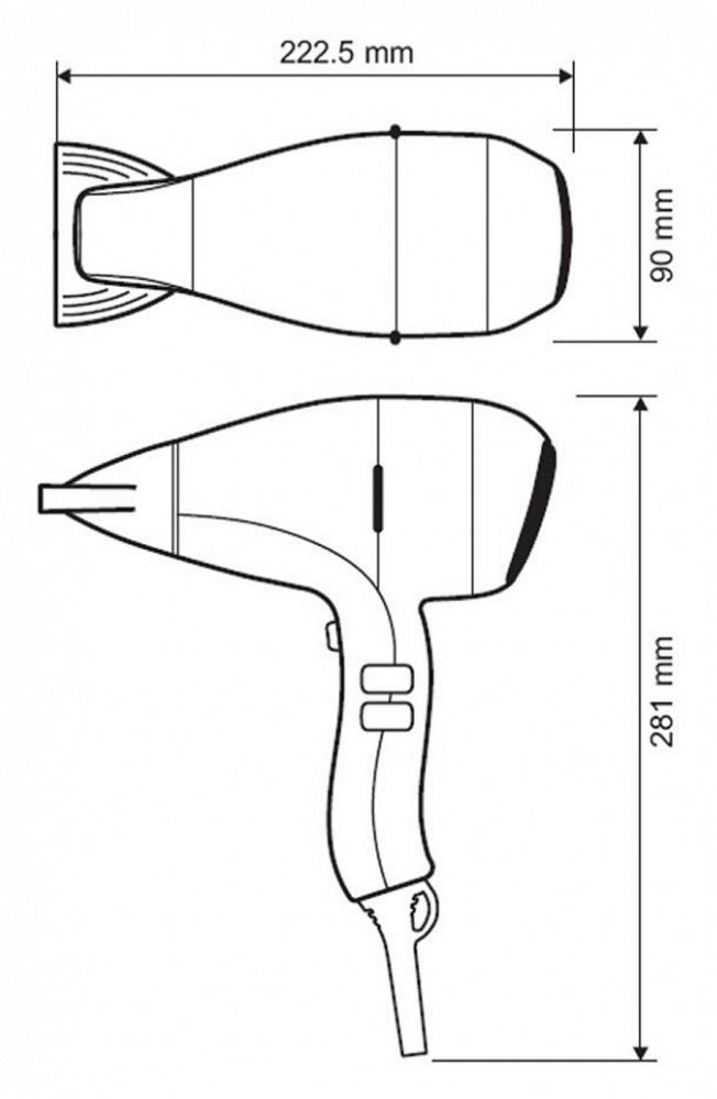 Hair Dryer Drawing At Getdrawings Com
