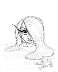 202x250 Image Result For Easy Mermaid Drawing Tumblr Mermaid