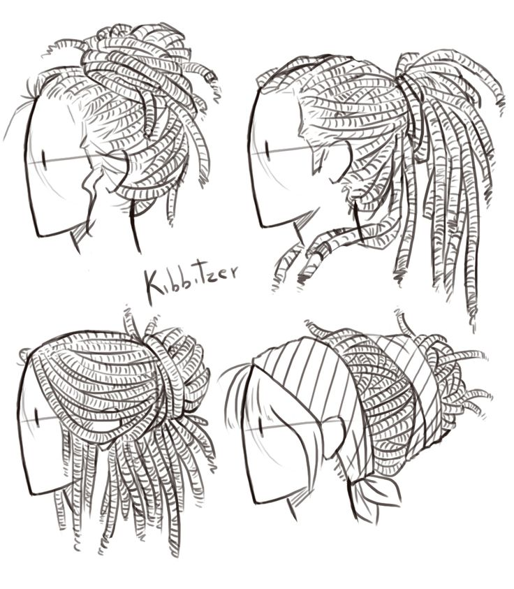 Hair Style Drawing At Getdrawings Free For Personal Use Hair