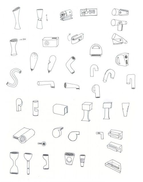 Hairdryer Drawing