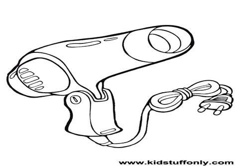 476x333 Coloring Pages Of Blow Dryer Disney Halloween Coloring Pages