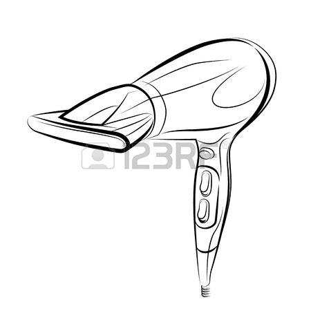 450x450 2,531 Blow Dryer Cliparts, Stock Vector And Royalty Free Blow