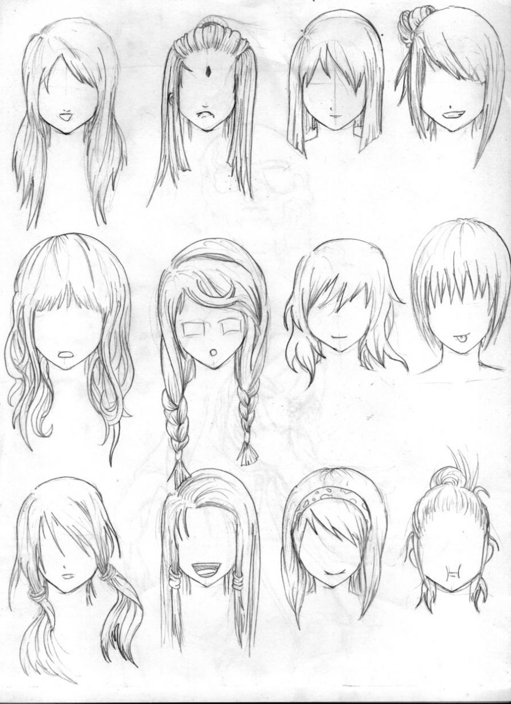 891x1227 Hairstyles ~ Anime Girl Hairstyle Hairstyle Women Amp Man Anime
