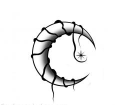230x210 Gothic Half Moon Image Download Free Image Tattoo Designs