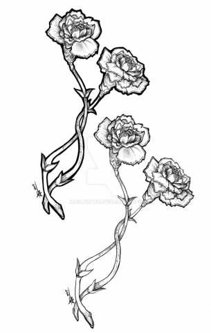 305x480 Half Sleeve Tattoo. Carnationssulfyr On Design Galleries