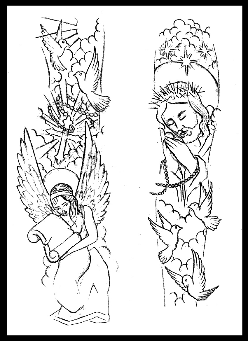 850x1169 Simple Half Sleeve Tattoo Designs Images About Tattoos