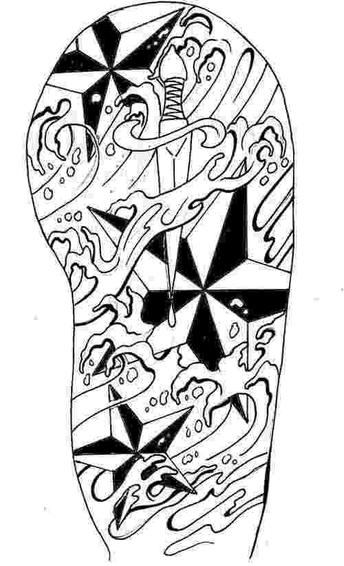 500x821 Best Tribal Arm Tattoo Designs Sketch