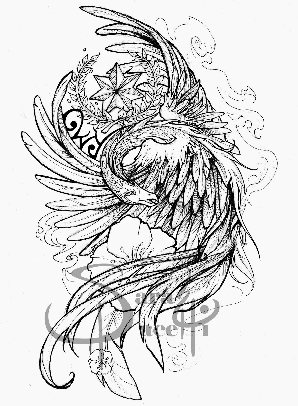 Tattoo Sleeve Stencils: Half Sleeve Tattoo Drawing Designs At GetDrawings