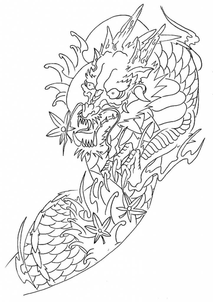 722x1024 Sleeve Tattoo Outlines More Like Half Sleeve Tattoo