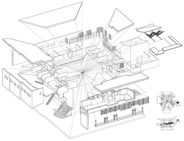 600x459 Saynatsalo Town Hall Alvar Aalto Cad Design Free Cad Blocks