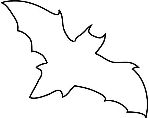 500x395 Drawing Clipart Bat