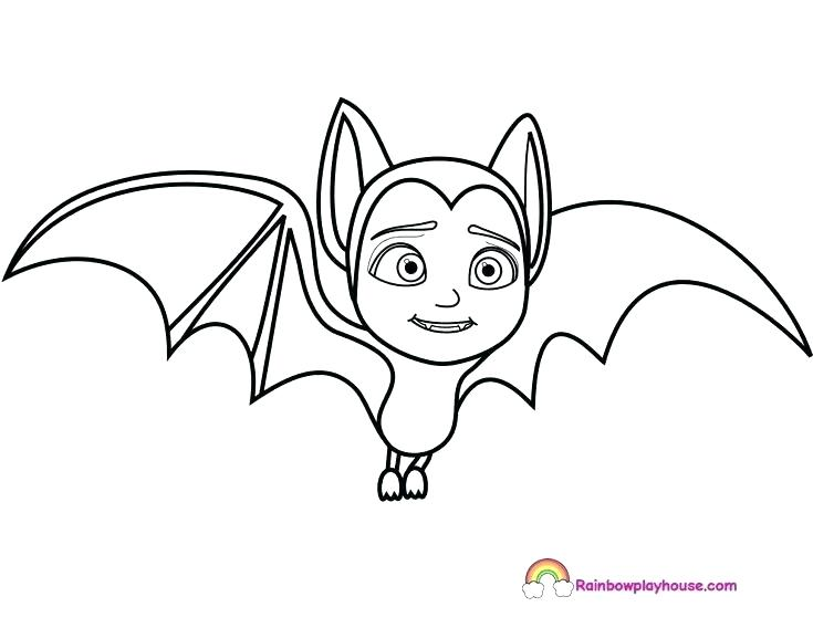 735x568 Halloween Bats Coloring Pages